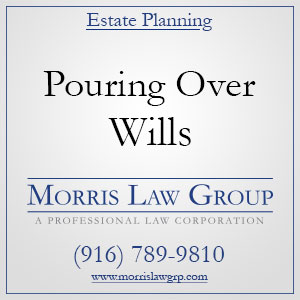 Estate Planning: Pour Over Wills